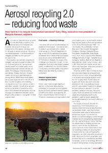 Attention Spawns Action in Reducing Food Waste